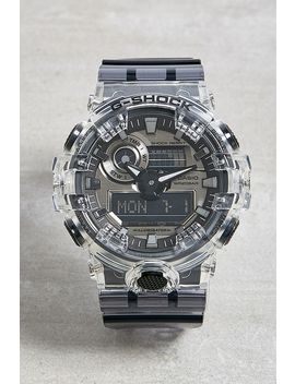 Casio G Shock Ga700 Clear Skeleton Watch by Casio