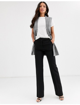Asos Design Tall Tailored Straight Leg Pants by Asos Design