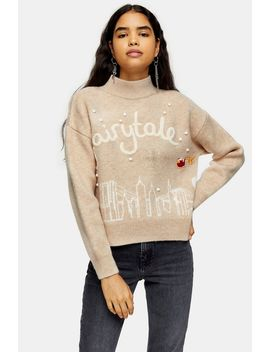 Christmas Knitted Fairytale Jumper by Topshop