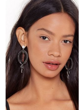Tomb Sweet Tomb Coffin Drop Earrings by Nasty Gal