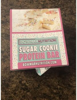 Bowmar Nutrition Sugar Cookie Protein Bars (Pack Of 11) by Bowmar Nutrition