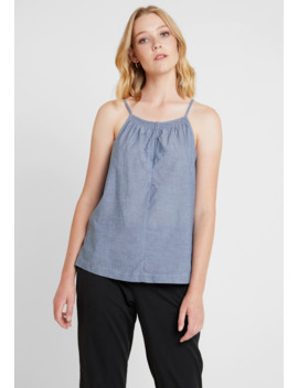 Smocked Halter   Blouse by Gap