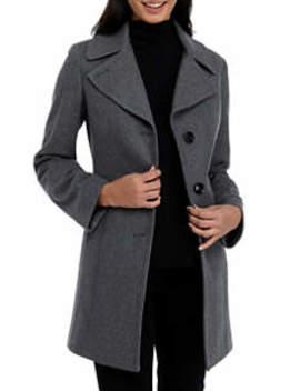Women's Single Breasted Wool Jacket by Anne Klein