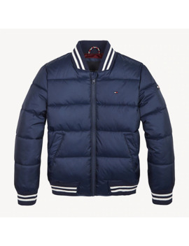 padded-zip-thru-bomber-jacket by tommy-hilfiger