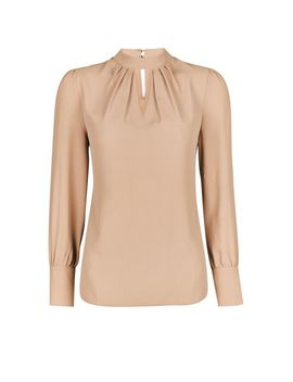 Camel Honey Long Sleeve Top by Dorothy Perkins