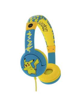 Otl Pokemon Junior Headphones   Blue599/5268 by Argos