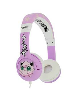 Pokemon Jiggly Puff Childrens Headphones   Pink810/2474 by Argos