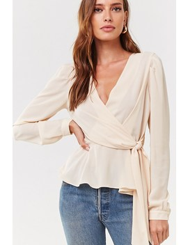 Chiffon Self Tie Top by Forever 21