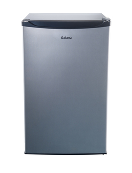 Galanz 4.3 Cu Ft Single Door Mini Fridge Gl43 S5, Stainless by Galanz