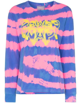 Power Nap Print Tie Dye T Shirt by Ashley Williams