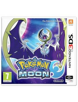 Pokemon Moon Nintendo 3 Ds Game571/6612 by Argos