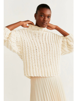Handmade   Jumper by Mango