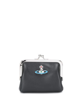Logo Plaque Purse by Vivienne Westwood