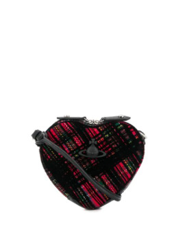 Tartan Heart Cross Body Bag by Vivienne Westwood