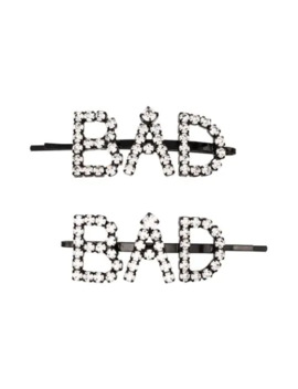 Crystal Bad Hair Slides by Ashley Williams