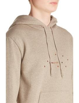 Star Logo Hooded Sweatshirt by Saint Laurent