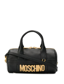 Oversized Logo Tote Bag by Moschino