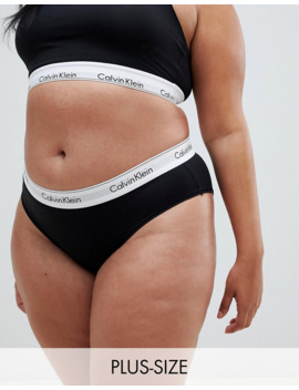 Calvin Klein Plus Size Set Black by Asos