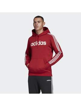 Essentials 3 Stripes Pullover Hoodie by Adidas