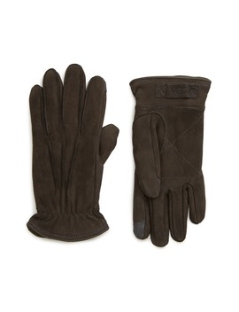 Three Point Leather Tech Gloves by Ugg®