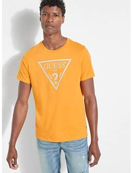 Guess Eco Reflective Logo Tee by Guess