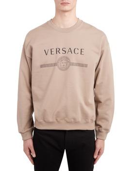 Logo Sweatshirt by Versace