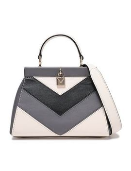 Color Block Leather Shoulder Bag by Michael Michael Kors