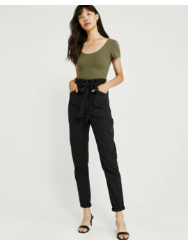 Belted Utility Pants by Abercrombie & Fitch