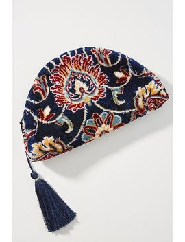Lia Embroidered Pouch by Anthropologie