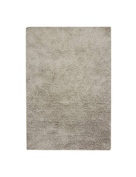John Lewis & Partners Bliss Shaggy Rug, Silver by John Lewis & Partners
