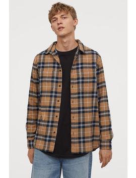 Camicia In Flanella Di Cotone by H&M