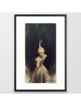 The Old Astronomer Framed Art Print by Society6