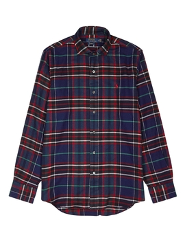 Checked Custom Cotton Shirt by Polo Ralph Lauren