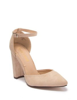 Holland Block Heel Pump by Chase & Chloe