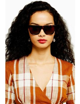 Wanda Large Square Sunglasses by Topshop