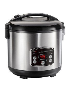 Hamilton Beach Digital Simplicity™ 20 Cup Rice Cooker And Steamer   Stainless 37541 by Hamilton Beach