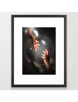 Catch Framed Art Print by Society6