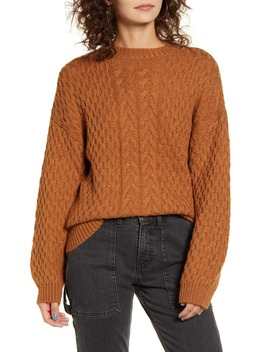 Cable Knit Sweater by Cotton Emporium