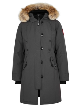 Kensington Fusion Fit Fur Trimmed Parka by Canada Goose