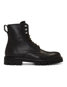 Black Log Boot Man Boots by Hope