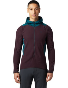 Mountain Hardwear Keele Hybrid Fleece Hoodie   Men's by Mountain Hardwear