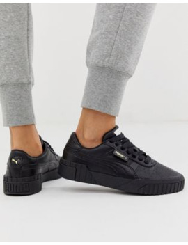 Puma – Cali – Sneaker In Triple Schwarz by Asos