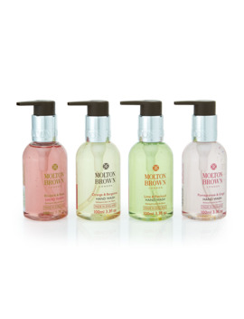Bestsellers Travel Hand Wash Set, 4 X 3.3 Oz./ 100 M L by Molton Brown