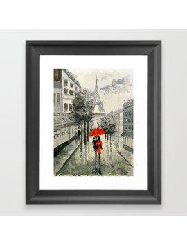 Paris Paris Framed Art Print by Society6