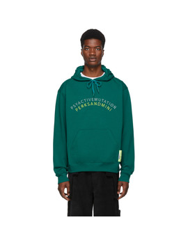 Green Arch Over Hoodie by Perks And Mini
