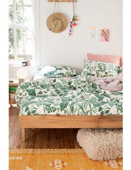 Bettbezugset Mit Blattmotiven Im Dschungeldesign by Urban Outfitters