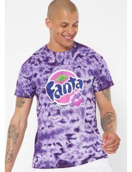 Purple Tie Dye Fanta Graphic Tee by Rue21