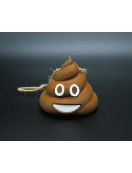 Poop Emoji Ornament by Etsy