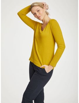 Hildur Wool & Organic Cotton Jumper by Thought