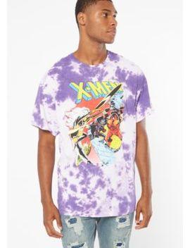Purple Tie Dye X Men Graphic Tee by Rue21